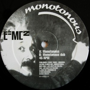 e=mc2-monotonous